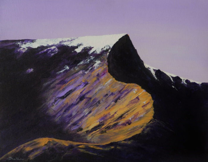 Purple Sharp Edge